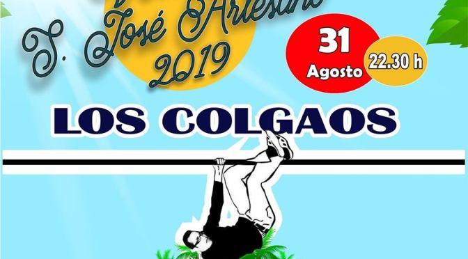 Despedimos el verano en la velada de San José Artesano con el grupo LOS COLGAOS