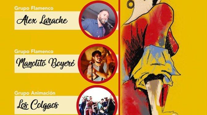En septiembre nos vamos a la preferia de Morón con el grupo Los Colgaos.