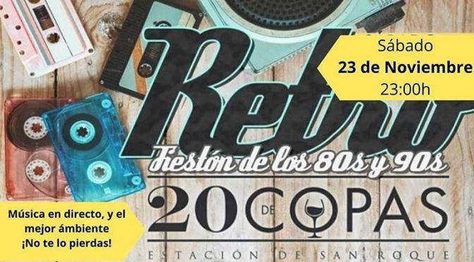 LOS COLGAOS EN PUB 20 DE COPAS DE LA ESTACIÓN DE SAN ROQUE.